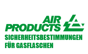 AIR Products Sicherheitsbestimmungen