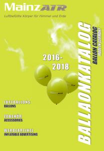 MainzAIR Ballonkatalog 2016-2018